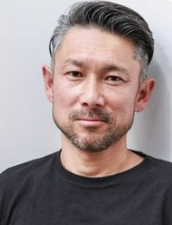 a man with gray hair
