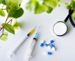 注射針とAGA薬