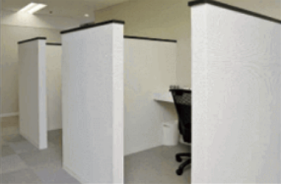 メンズサポートクリニックの待合室